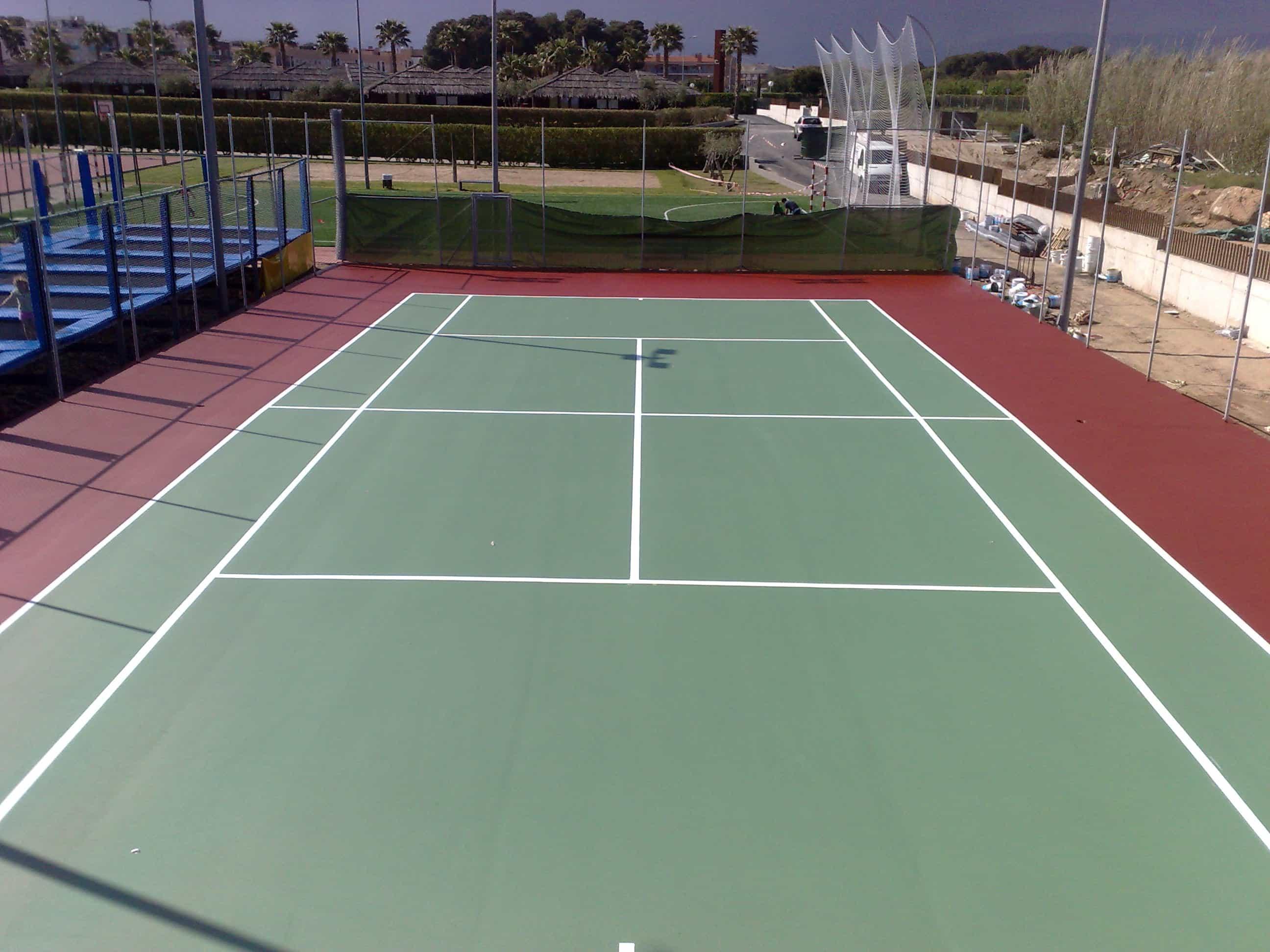 Pavimentos deportivos Tarragona