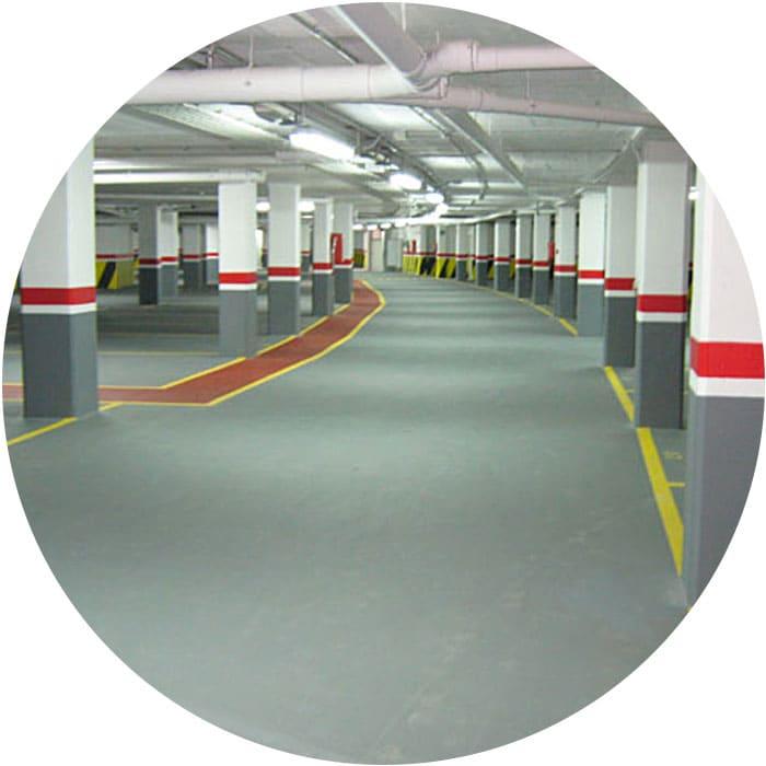Pavimentos parking Tarragona