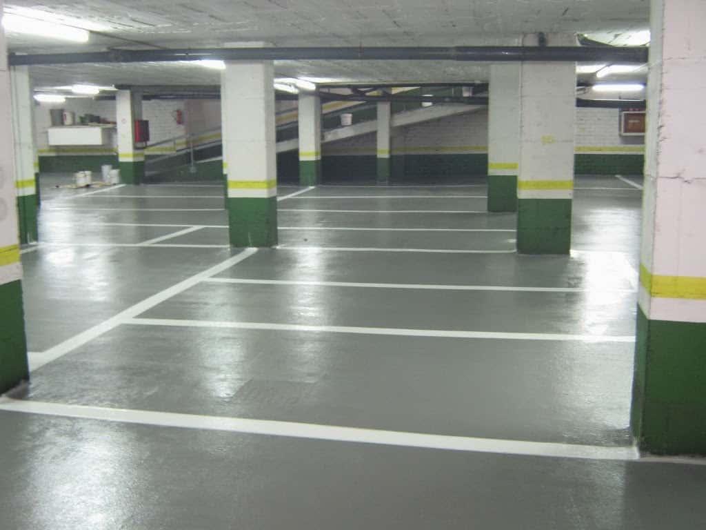 pavimentos parking barcelona